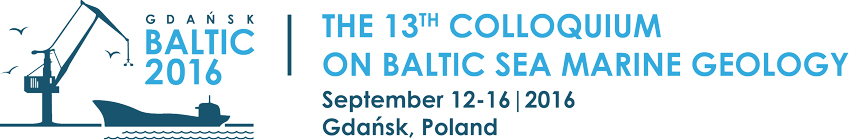 colloquium on Baltic See marine geology, Gdansk 2016