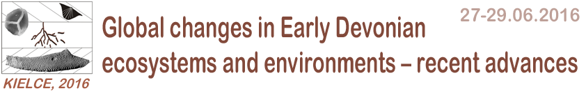 Global Changes in early Devonian - Conference Kielce 2016